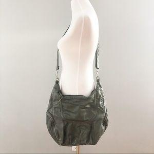 Bp Grey Faux Leather Shoulder Bag
